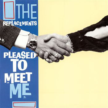 The Replacements - Pleased to Meet Me (LP, Translucent Blue Vinyl)
