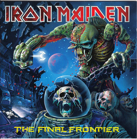 Iron Maiden - The Final Frontier (CD, Digipak)