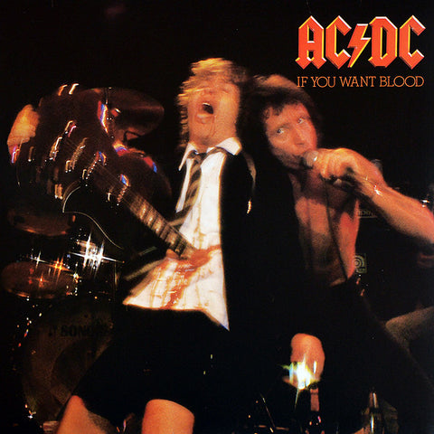 AC/DC ‎– If You Want Blood You've Got It LP