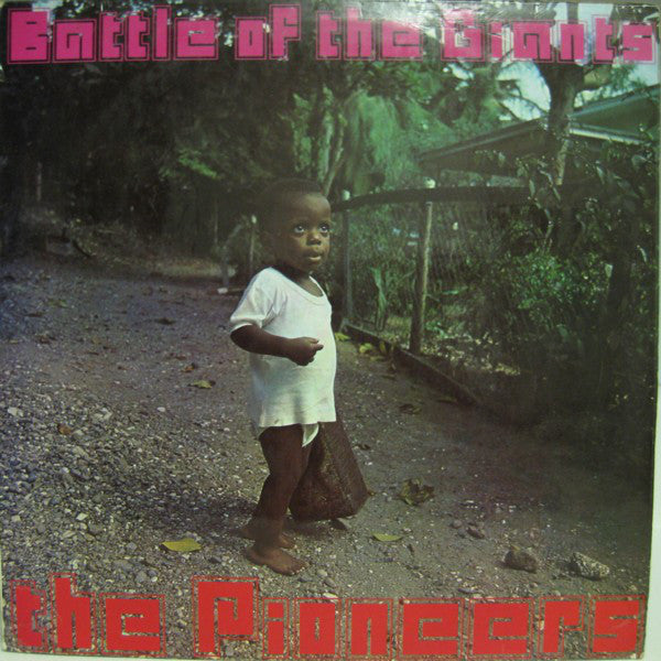 The Pioneers - Battle Of The Giants (LP, 180g Orange Vinyl)