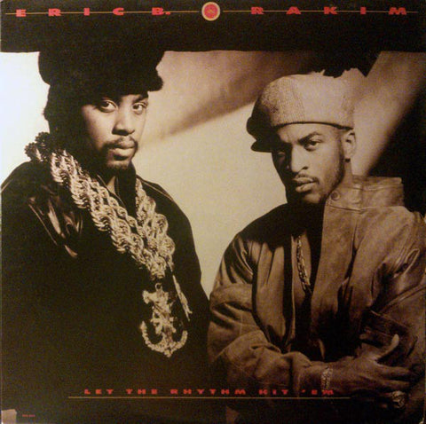 Eric B. & Rakim ‎- Let The Rhythm Hit 'Em (2xLP)