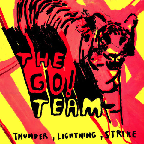The Go! Team - Thunder, Lightning, Strike: 15th Anniversary Edition (LP, Silver Vinyl)