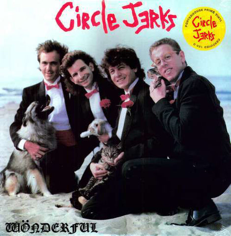 Circle Jerks ‎– Wonderful (LP)