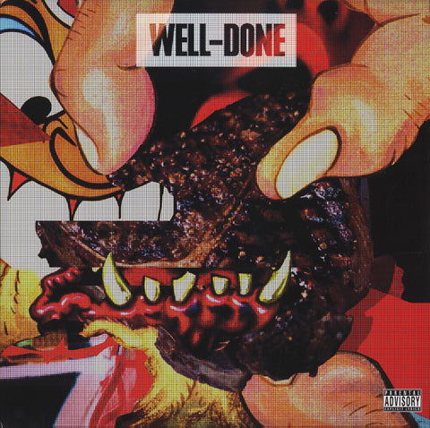 Action Bronson & Statik Selektah - Well-Done (2xLP, Red Vinyl)