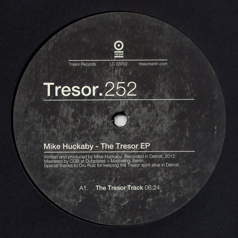 "Mike Huckaby - The Tresor EP (12"")"