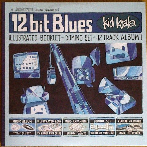 Kid Koala - 12 Bit Blues (2xLP)