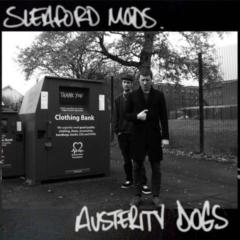Sleaford Mods - Austerity Dogs (LP, yellow vinyll)