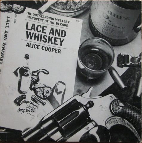 Alice Cooper - Lace And Whiskey (LP. 140g Rocktober Whiskey Brown Vinyl)