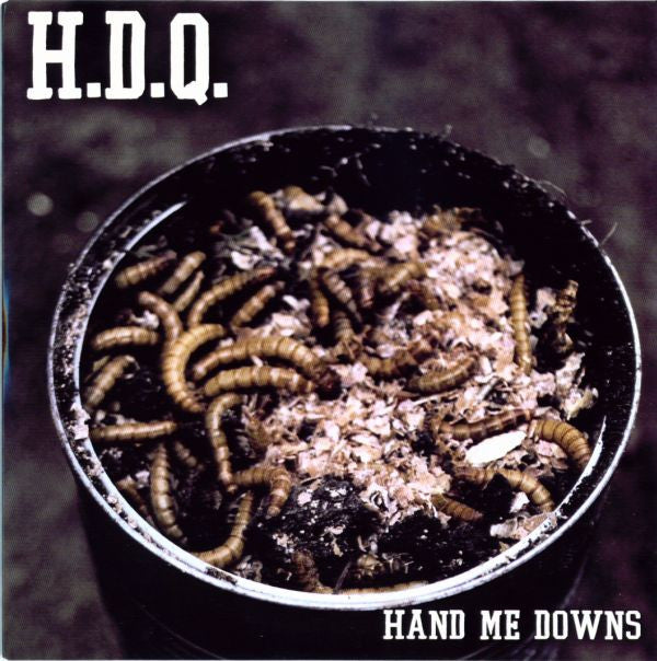 "H.D.Q. - Hand Me Downs (Green Vinyl 7"")"
