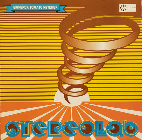 Stereolab - Emperor Tomato Ketchup (3xLP, Deluxe Gatefold, Indie Excl. Clear Vinyl)