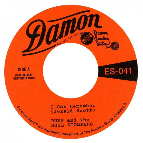 "Bump And The Soul Shakers - I Can Remember/Standing On The Outside (7"")"