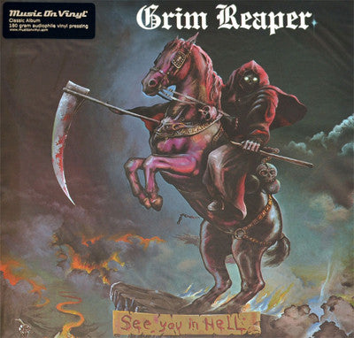Grim Reaper - See You In Hell (LP, 180g Audiophile vinyl)