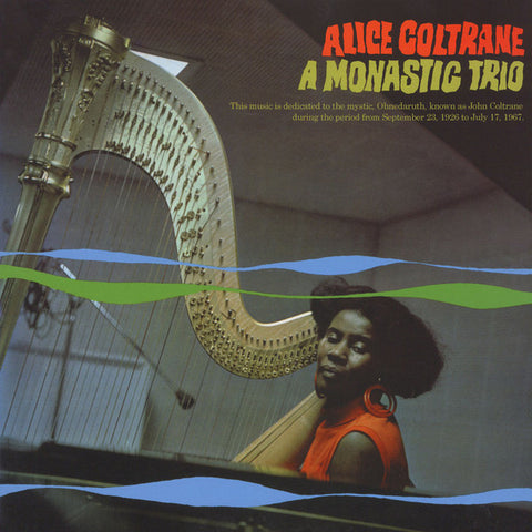 Alice Coltrane - A Monastic Trio (LP)