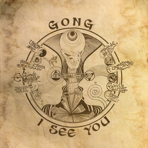 Gong - I see You (2xLP, Single Sided Vinyl)