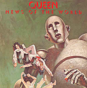 Queen - News Of The World (LP, 180g Heavyweight, Remastered, Gatefold Vinyl)