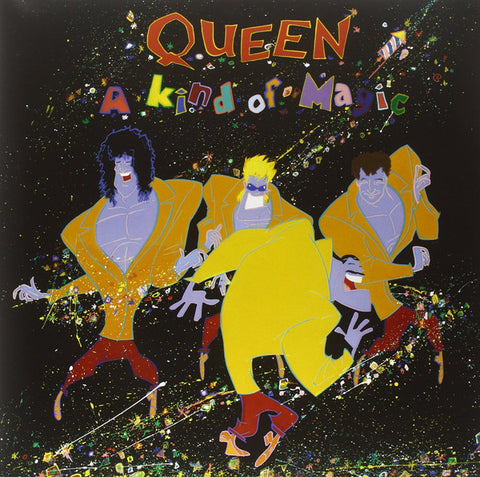 Queen - A Kind of Magic (LP, 180g Heavyweight, Remastered, Gatefold Vinyl)