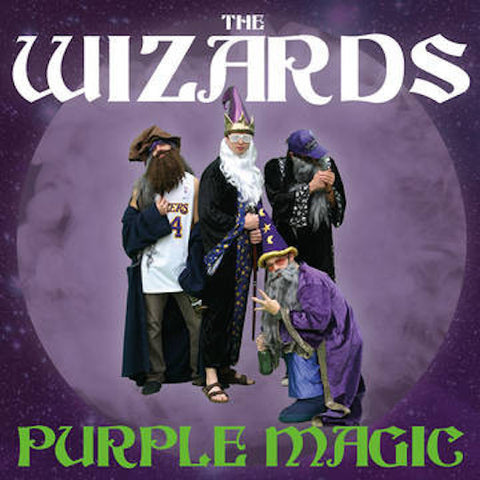 The Wizards - Purple Magic (LP)