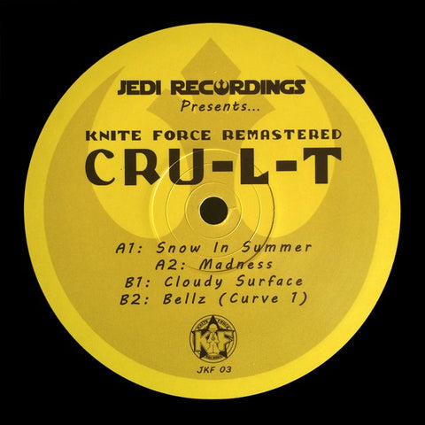 "Cru-L-T - Kniteforce Remastered: Cru-L-T (12"")"