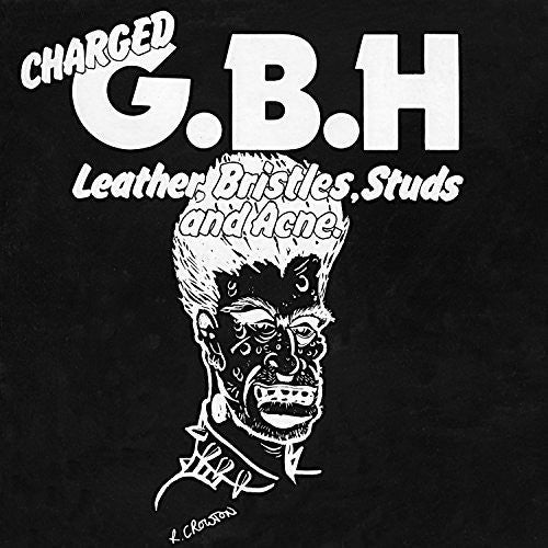 Charged G.B.H - Leather, Bristles, Studs And Acne (LP, RED VINYL)