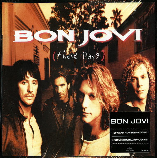 Bon Jovi - These Days (LP, 180g vinyl)