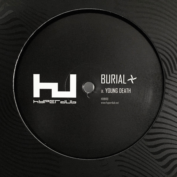 "Burial - Young Death / Nightmarket (12"")"