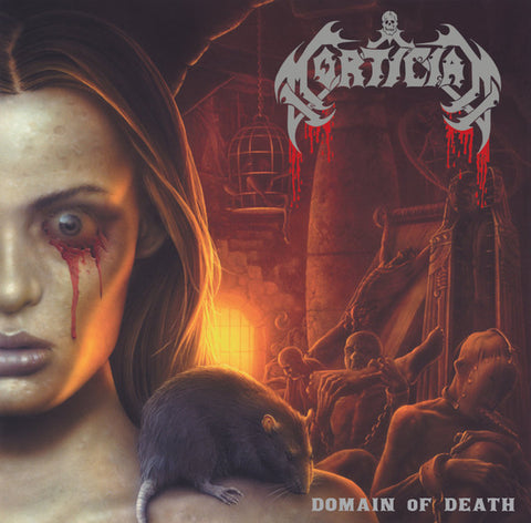 Mortician ‎– Domain Of Death (LP, Coloured Vinyl)