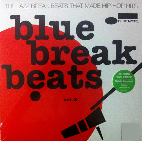 Various - Blue Break Beats - Vol.2 2xLP(+DL) [RED VINYL]
