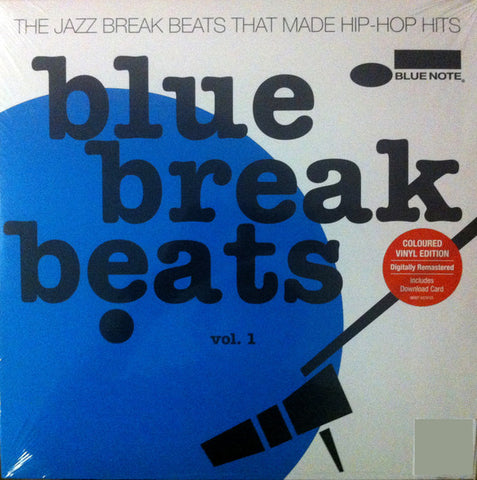 Various - Blue Break Beats - Vol. 1 2xLP(+DL) [BLUE VINYL]