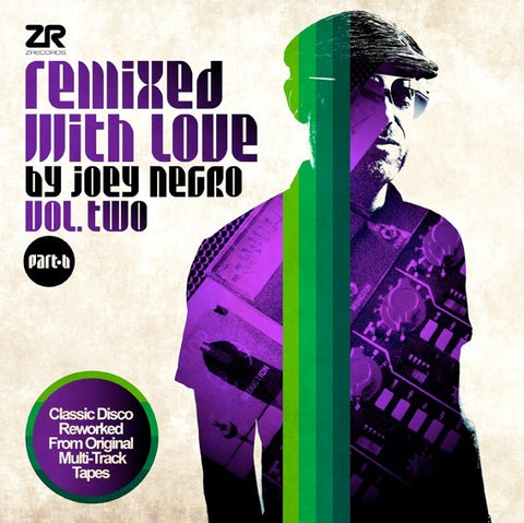 PREORDER - Various - Remixed With Love by Joey Negro Vol.2 Part B (2xLP)