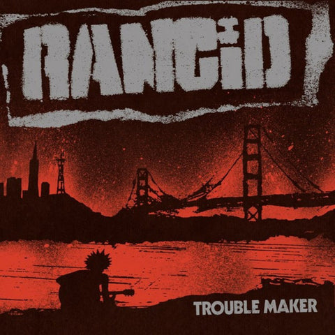 "Rancid - Trouble Maker (LP on Purple/Yellow mix vinyl, + Bonus 7"")"