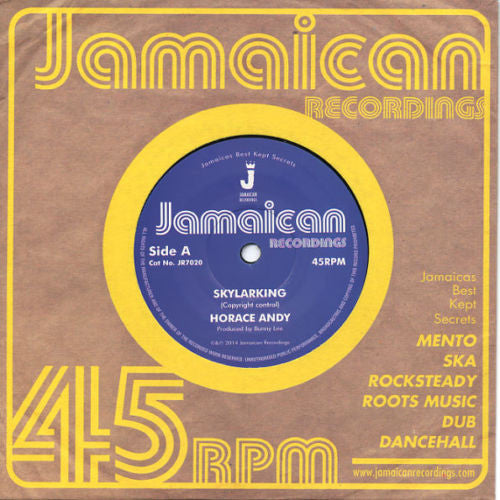 Horace Andy – Skylarking 7""