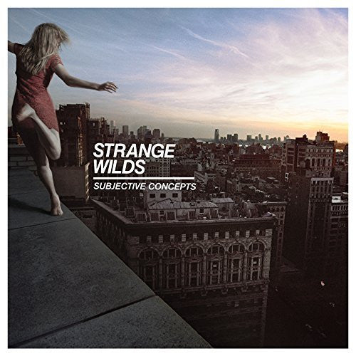Strange Wilds - Subjective Concepts LP (Limited White Vinyl)