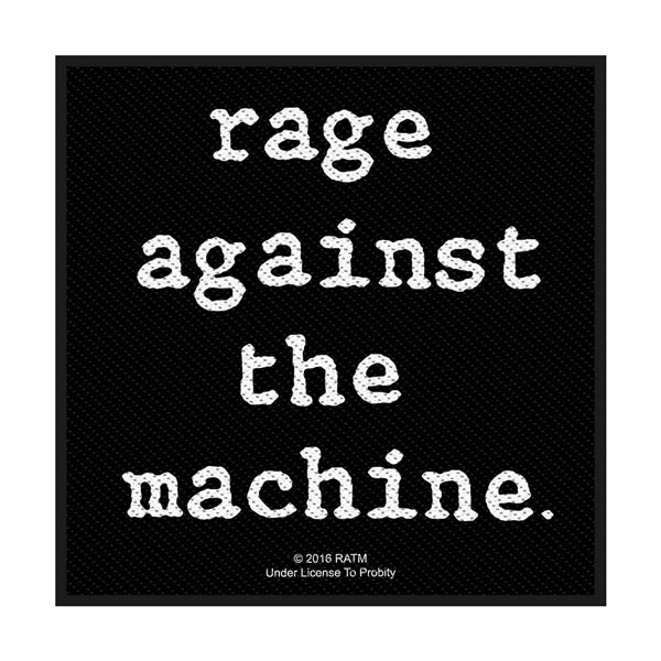 Rage Against The Machine - Logo (Patch)