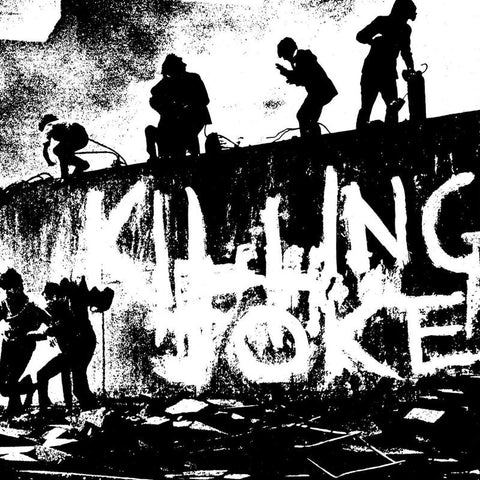 Killing Joke - s/t (LP, Half Black, Half Clear vinyl)