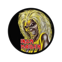 Iron Maiden - Killers (Round patch)