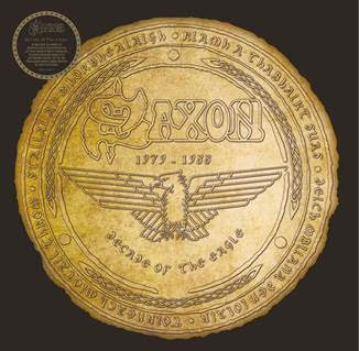 PREORDER - Saxon - Decade Of The Eagle (4xLP, Foil Embossed Cover)