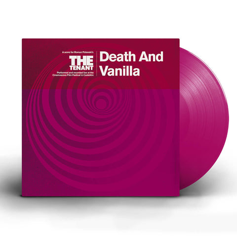 Death And Vanilla - The Tenant (LP, Magenta coloured vinyl)