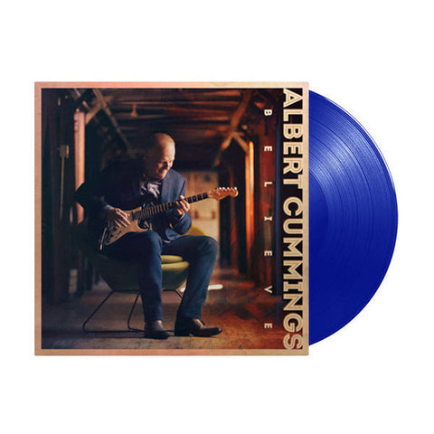 Albert Cummings - Believe (LP, Limited 180g Blue Vinyl + Download)