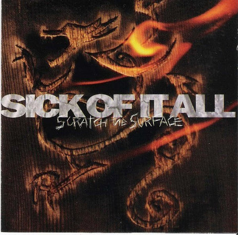 Sick Of It All - Scratch The Surface (LP, 180gm, Orange Vinyl)