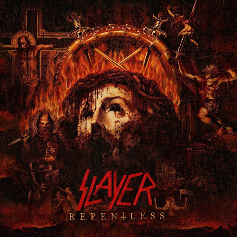 Slayer - Repentless (LP, orange/red corona vinyl)