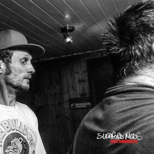 Sleaford Mods - Key Markets (LP, red and white splatter vinyl)