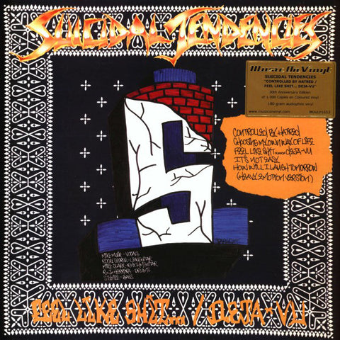 Suicidal Tendencies - Controlled By Hatred (LP, 180gm, blue/gold swirl vinyl)
