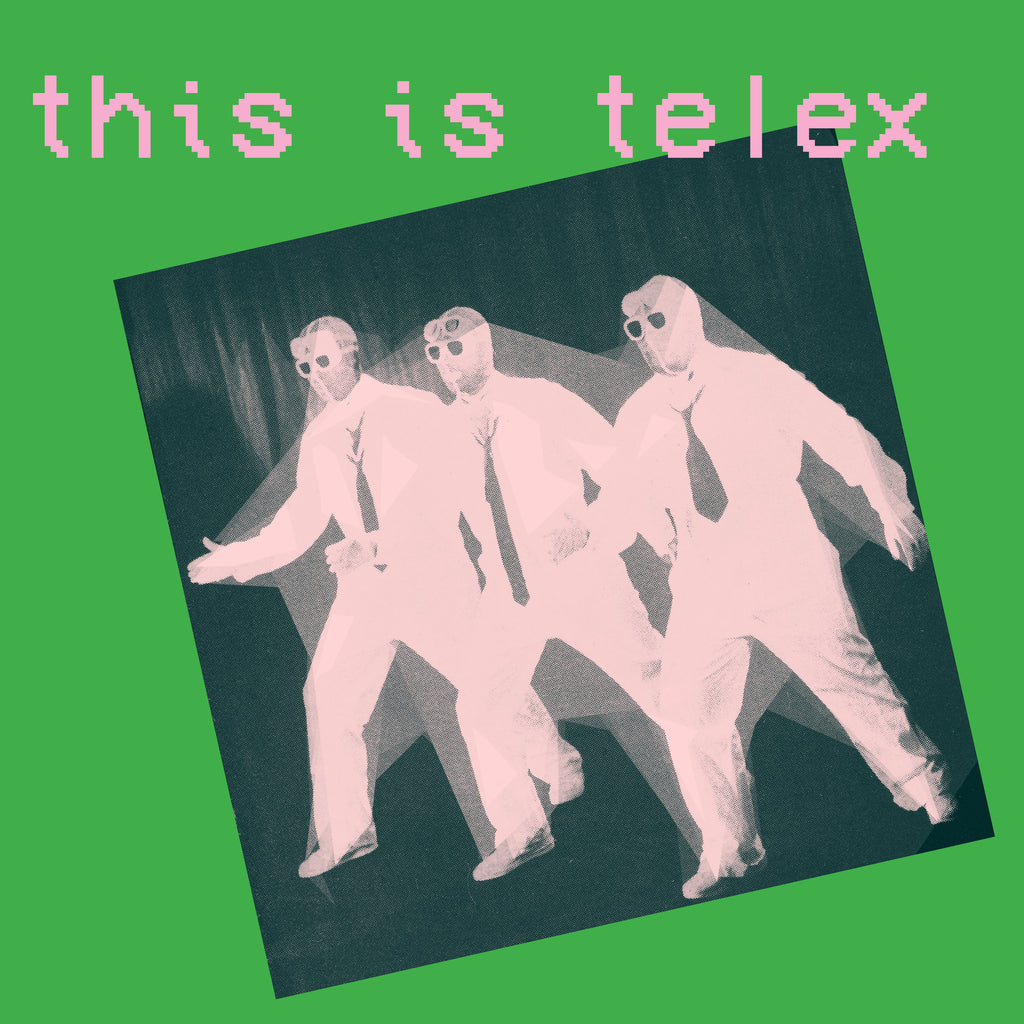 Telex - This Is Telex (2xLP, pink/green vinyl)