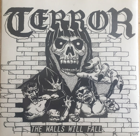"Terror - The Walls Will Fall (7"", Orange Vinyl)"