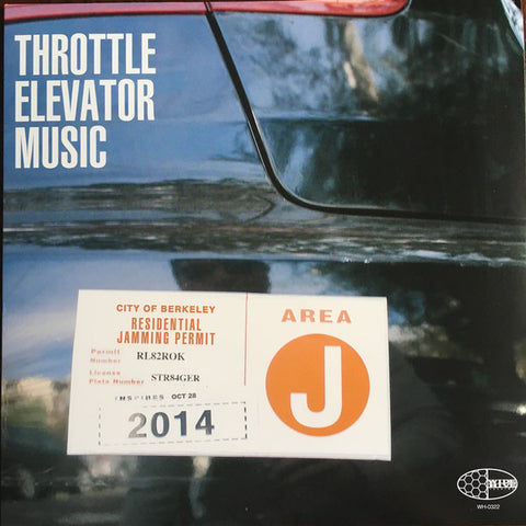 Throttle Elevator Music ft Kamasi Washington - Area J (LP)