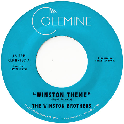 "The Winston Brothers - Winston Theme /  Boiling Pot (7"")"