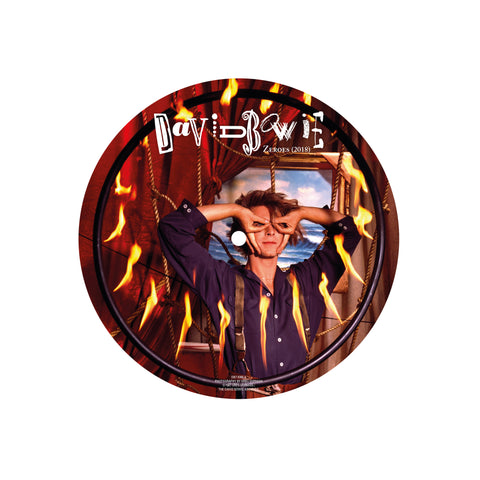 "PREORDER - David Bowie - Zeroes (7"" Picture Disc)"