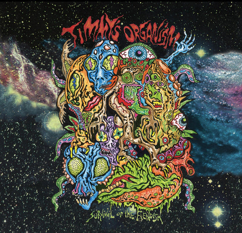 Timmy's Organism - Survival of the Fiendish (LP)