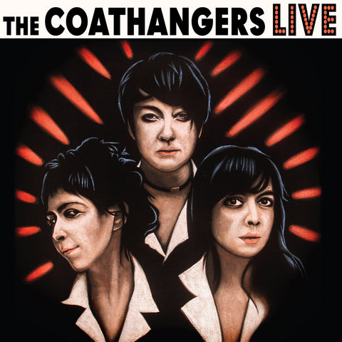 Coathangers - Live (LP, Ltd. Tricoloured RWB Vinyl)