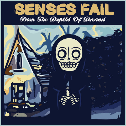 "Senses Fail ‎– From The Depths Of Dreams (12"" EP, Baby Blue)"
